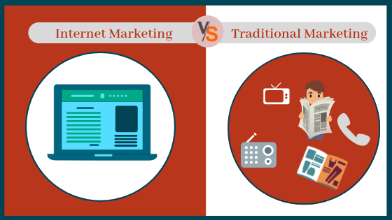 Why a small enterprise should choose internet marketing over traditional marketing?