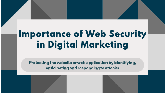 importance of web security in digital marketing