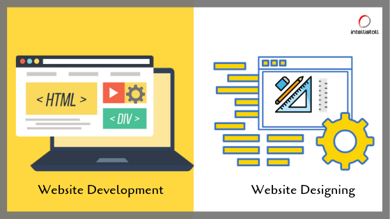 Role Of Web Design And Development In Digital Marketing Intellistall